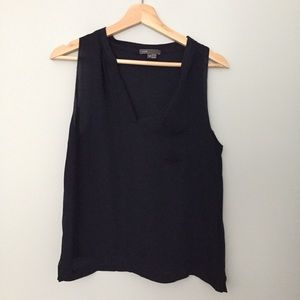 Vince silk sleeveless blouse